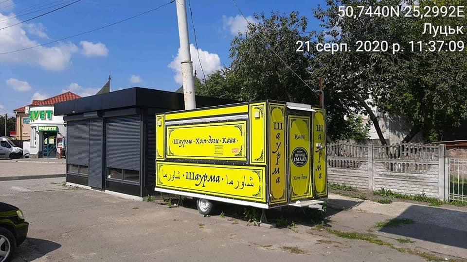 У Луцьку виявили низку незаконних тимчасових споруд