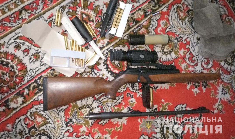 У жителя Нововолинська вилучили наркотики та зброю
