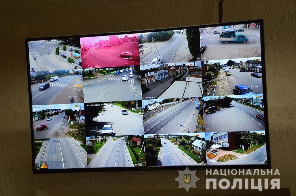 В одному з районів Волині оцінили перші результати роботи камер відеоспостереження