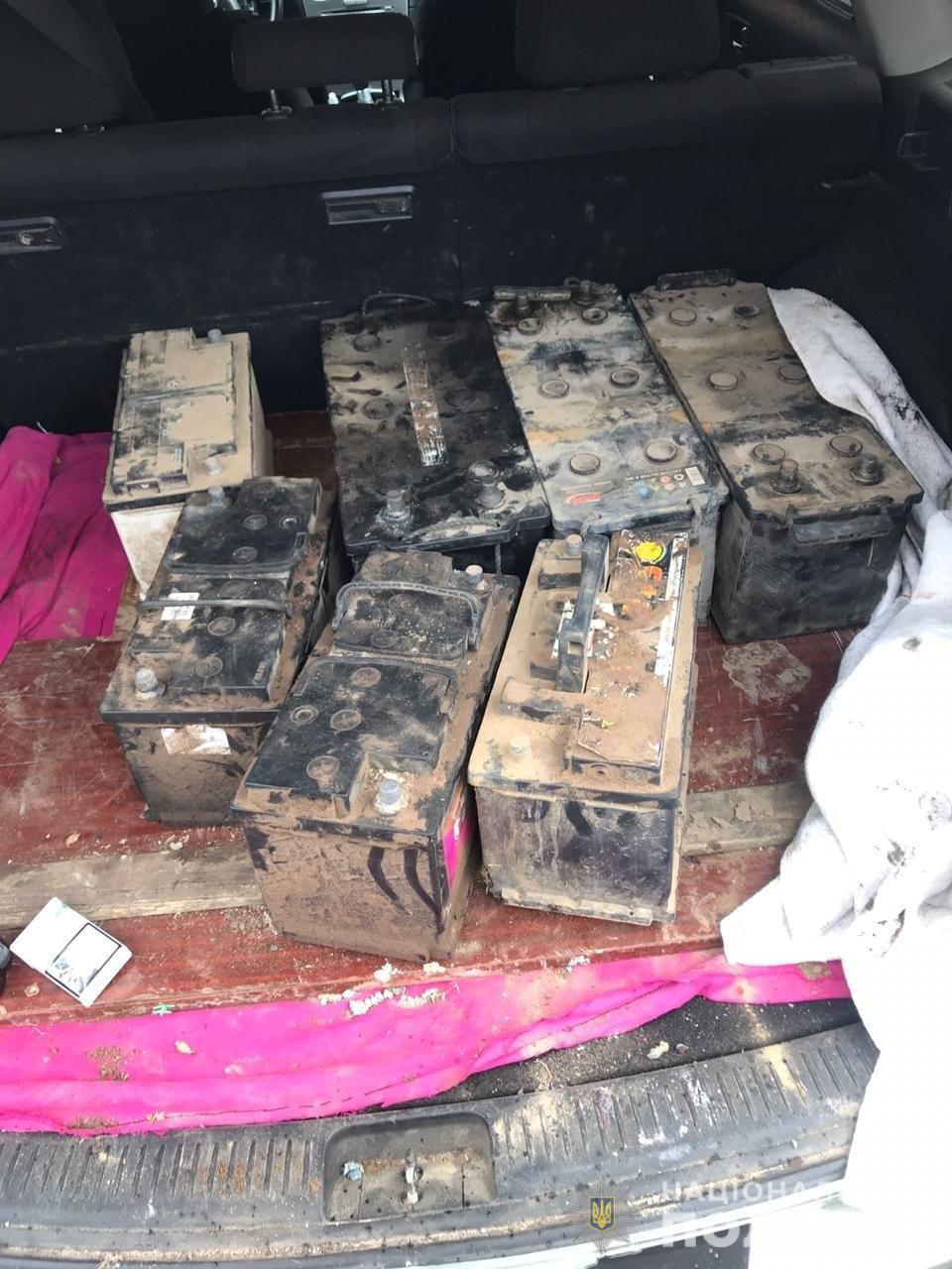 На Волині затримали серійного викрадача акумуляторів