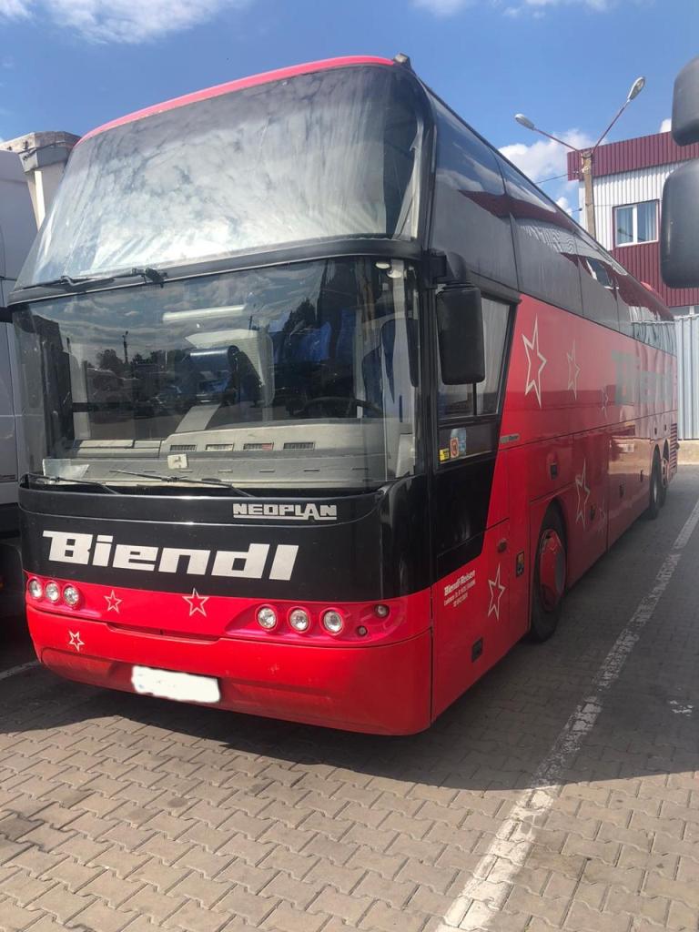 На Поліській митниці попередили незаконне митне оформлення автобуса вартістю майже півмільйона гривень