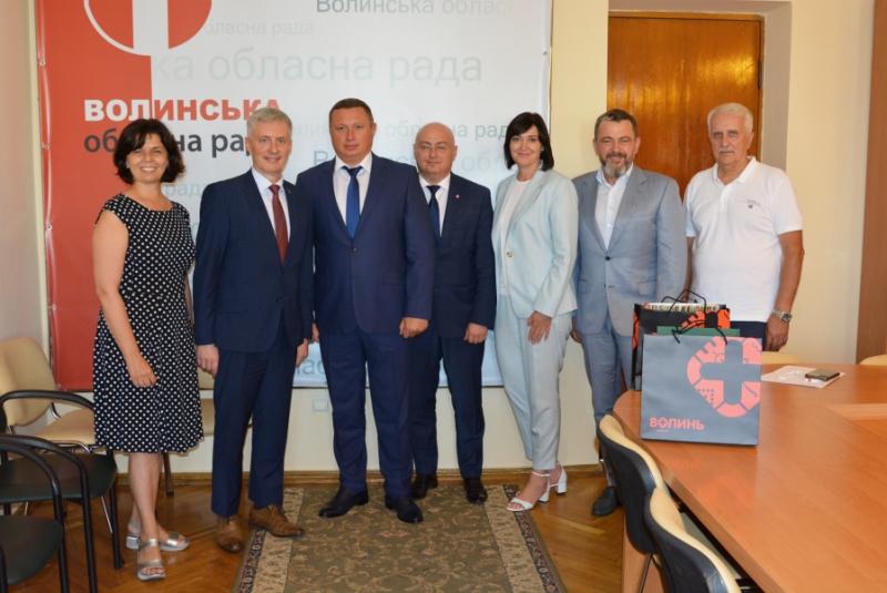 Волинь відвідав Надзвичайний і Повноважний Посол Литви