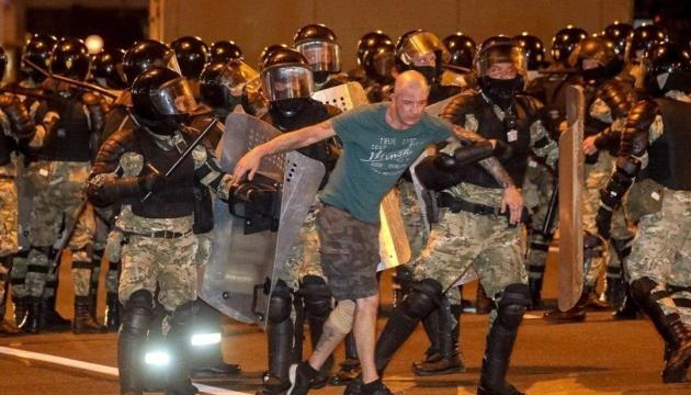 На протестах у Білорусі затримали близько трьох тисяч осіб