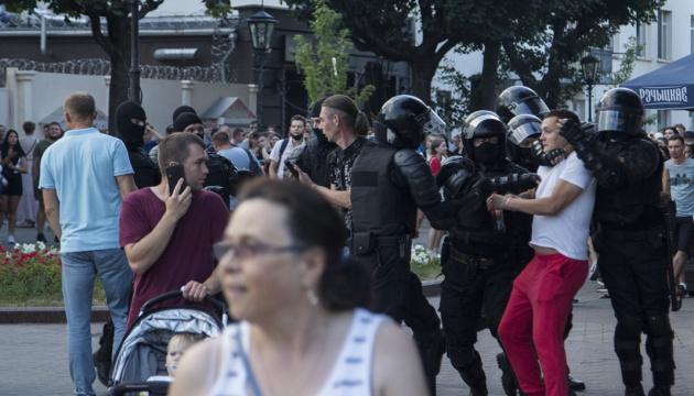 Протести у Білорусі не вщухають п'ять днів поспіль