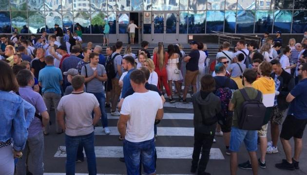 Співробітники Білоруської телерадіокомпанії і низки підприємств вийшли на страйк