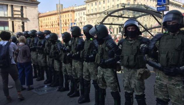 Протести у Мінську: Кількість затриманих зросла до 140