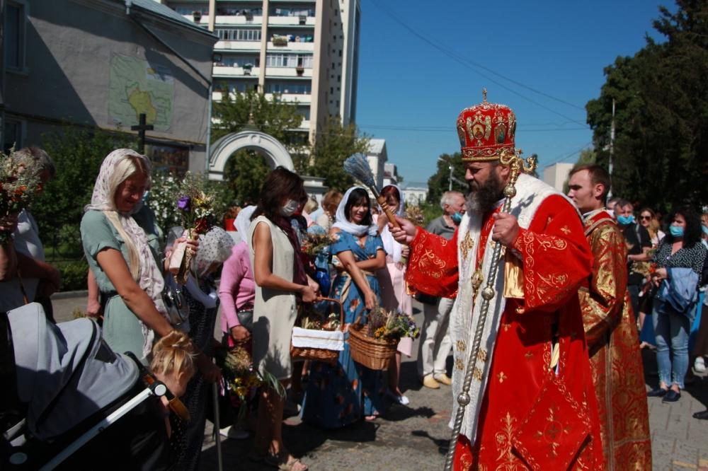 Як у кафедральному соборі Луцька відзначили свято Спаса