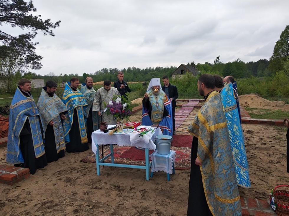 У Шацькому районі побудують новий храм УПЦ МП