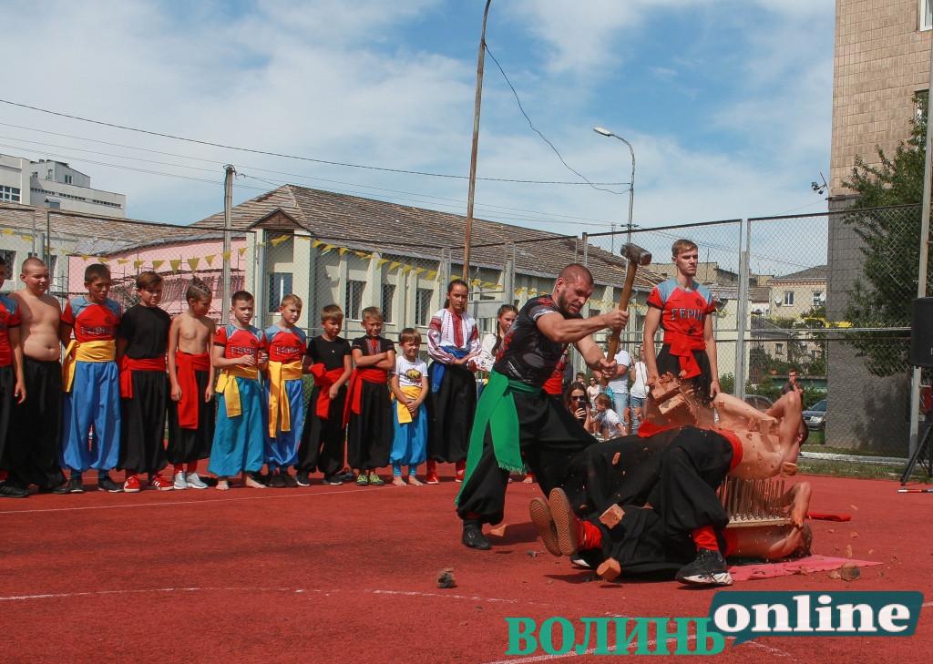У Луцьку відкрили нову спортивну залу клубу козацьких бойових мистецтв «Герць»