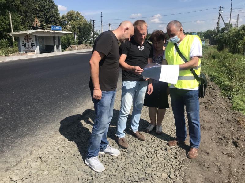 У районі на Волині проінспектували ремонт автошляху