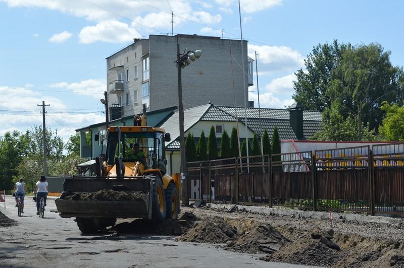 У Ковелі розпочали капітальний ремонт вулиці за майже 4,5 мільйона