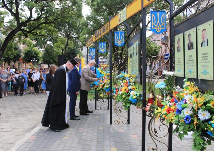 Нововолинці вшанували пам'ять загиблих захисників України