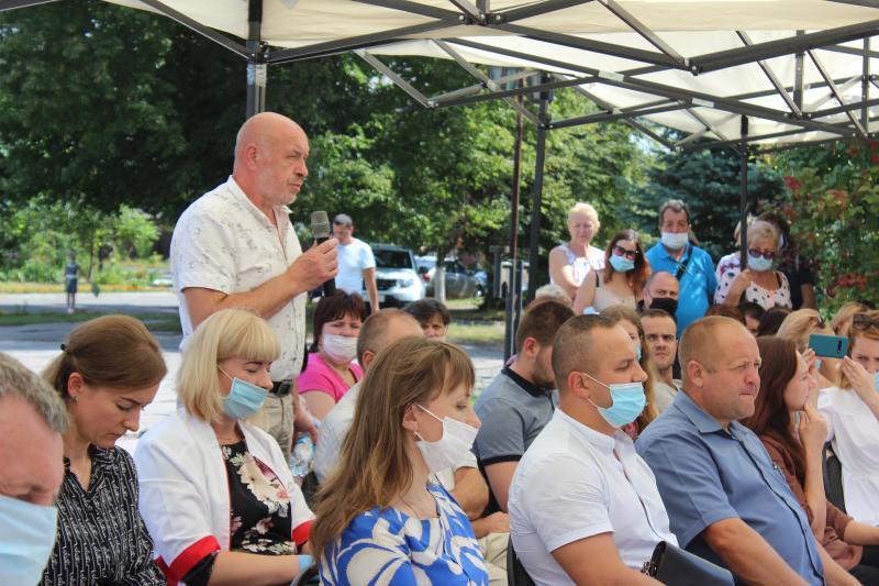 У Ківерцях обговорювали проблеми трьох районів Волині