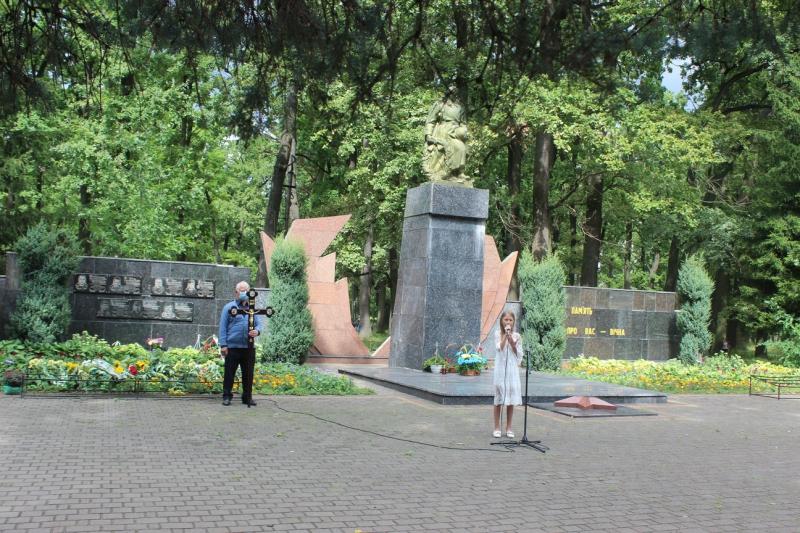 У Ківерцях вшанували пам'ять тих, хто загинув за незалежність України