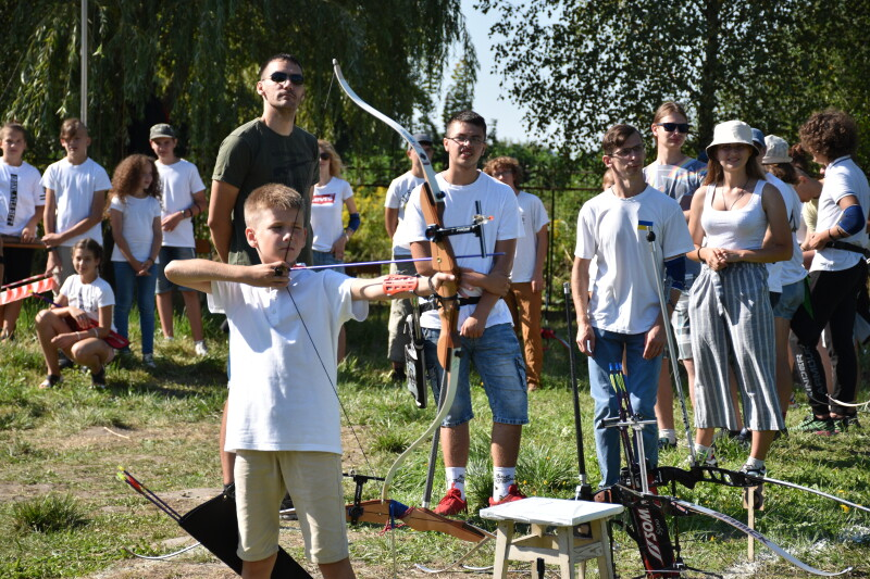 У Луцьку відбувся чемпіонат міста зі стрільби з лука
