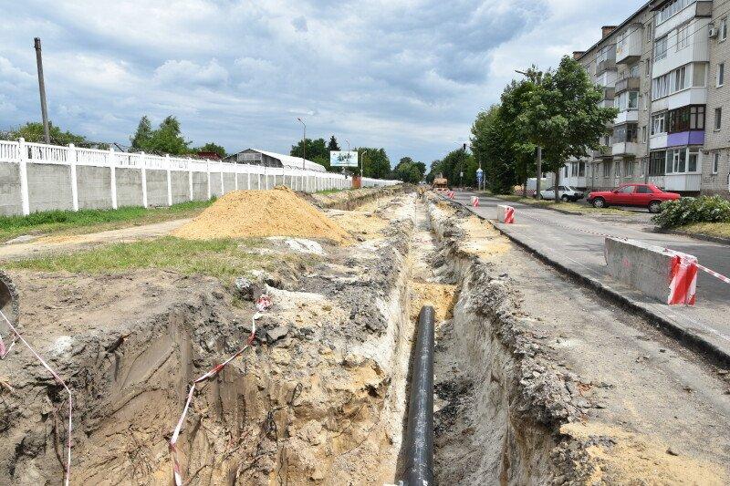 Лучан попередили про ускладнений рух однією з вулиць на час ремонту дороги