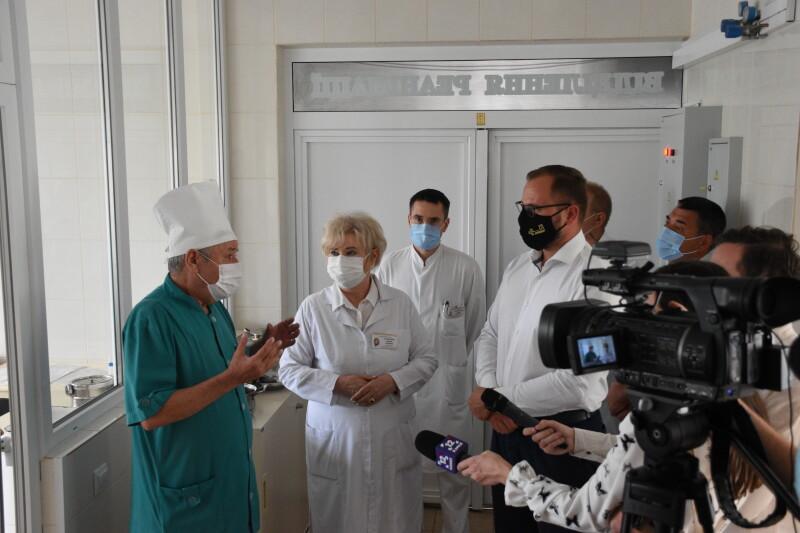 Луцька міська клінічна лікарня отримала нове обладнання