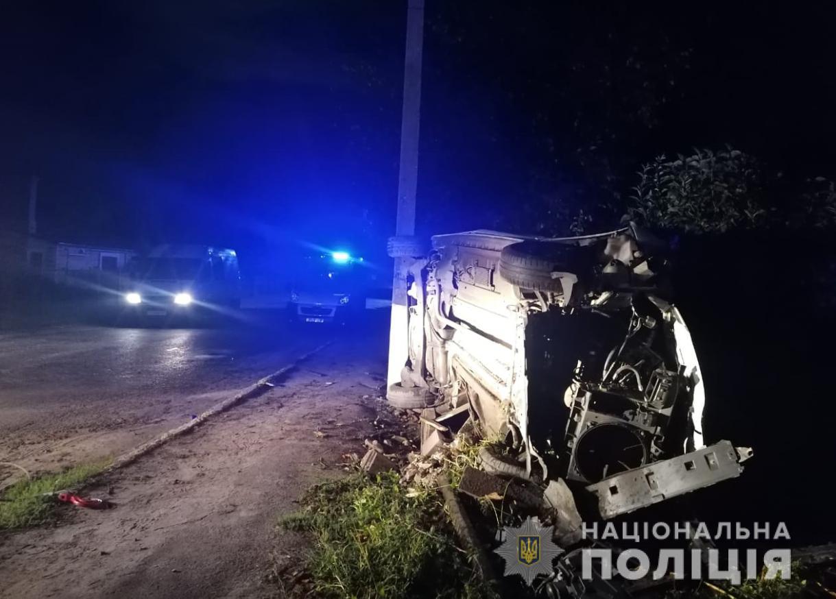 У Рожищі у ДТП загинув 20-річний водій