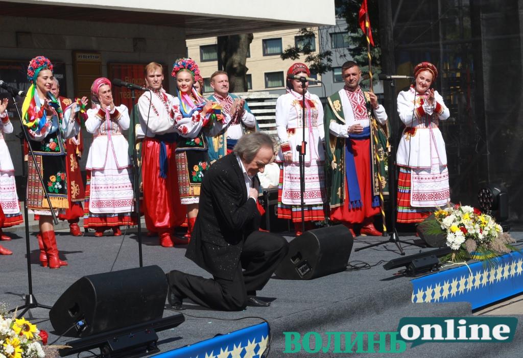 Лучан із Днем міста вітав Василь Зінкевич