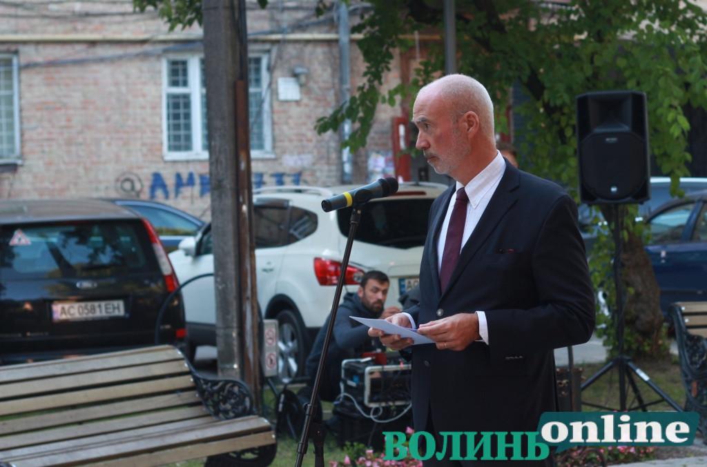 Посол Франції подякував за прийом у Луцьку