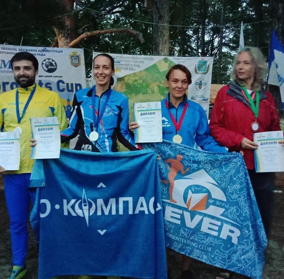 Волиняни посіли призові місця у Чемпіонаті України зі спортивного орієнтування