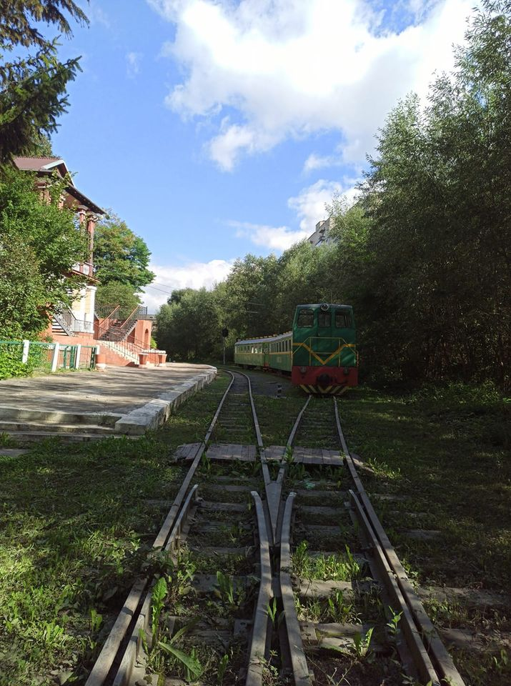 Міськрада готова взяти дитячу залізницю у Луцьку у комунальну власність