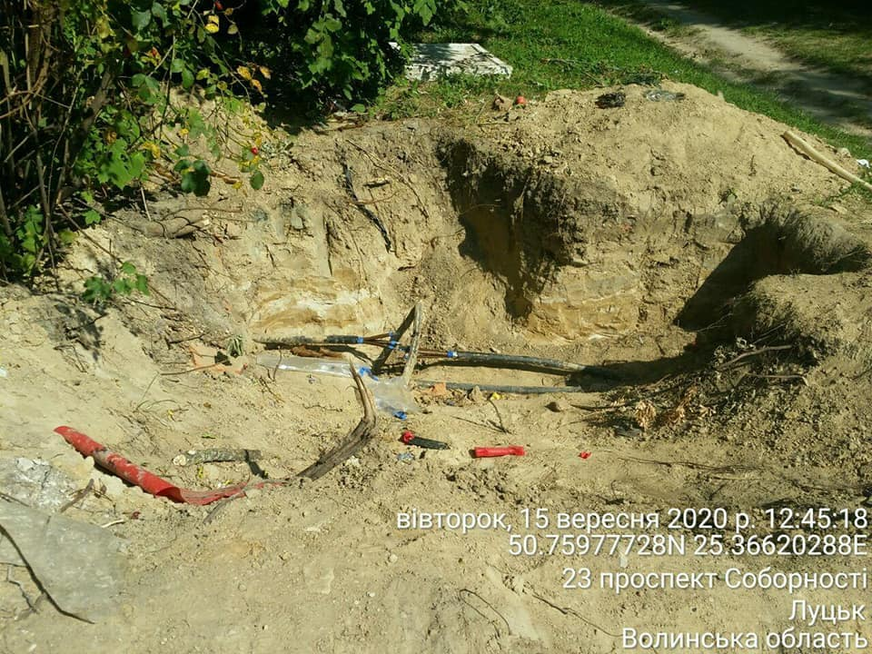 У Луцьку видали приписи підприємствам, які не навели лад після проведення земельних робіт