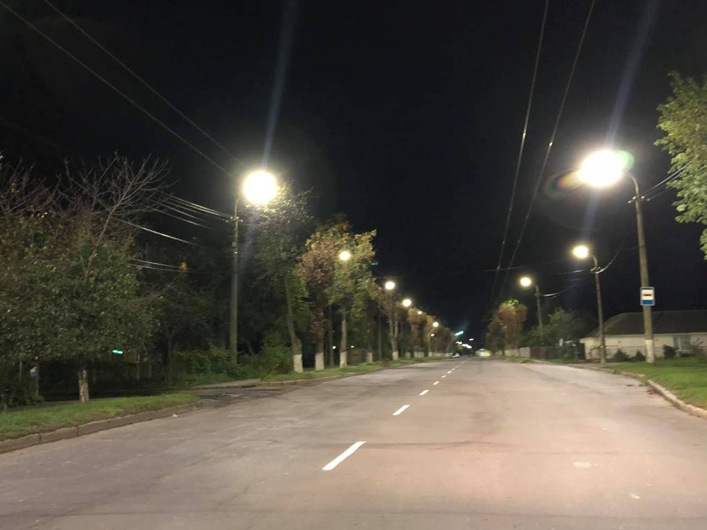 У Луцьку встановили LED-освітлення на двох вулицях