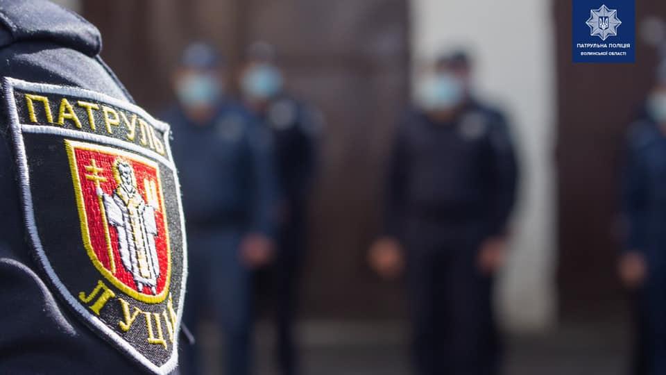 Волинські патрульні дали судовим охоронцям випробувати алкоокуляри