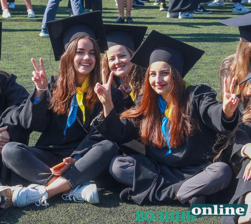 Інавгурація студентів Лесиного вишу в обличчях. ФОТОРЕПОРТАЖ