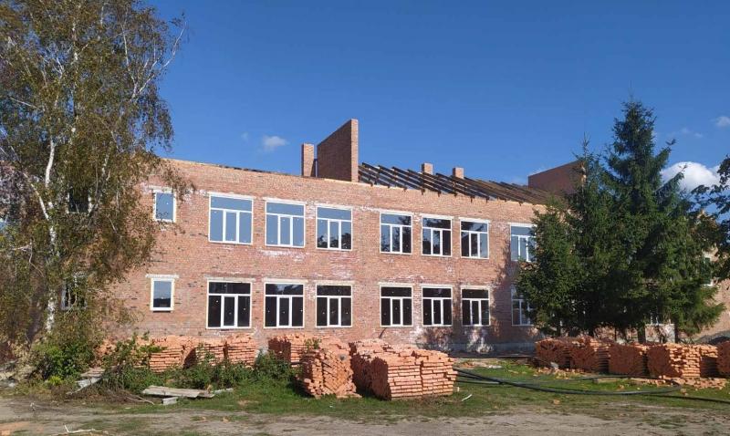 У селі на Волині пришвидшили темпи будівництва школи