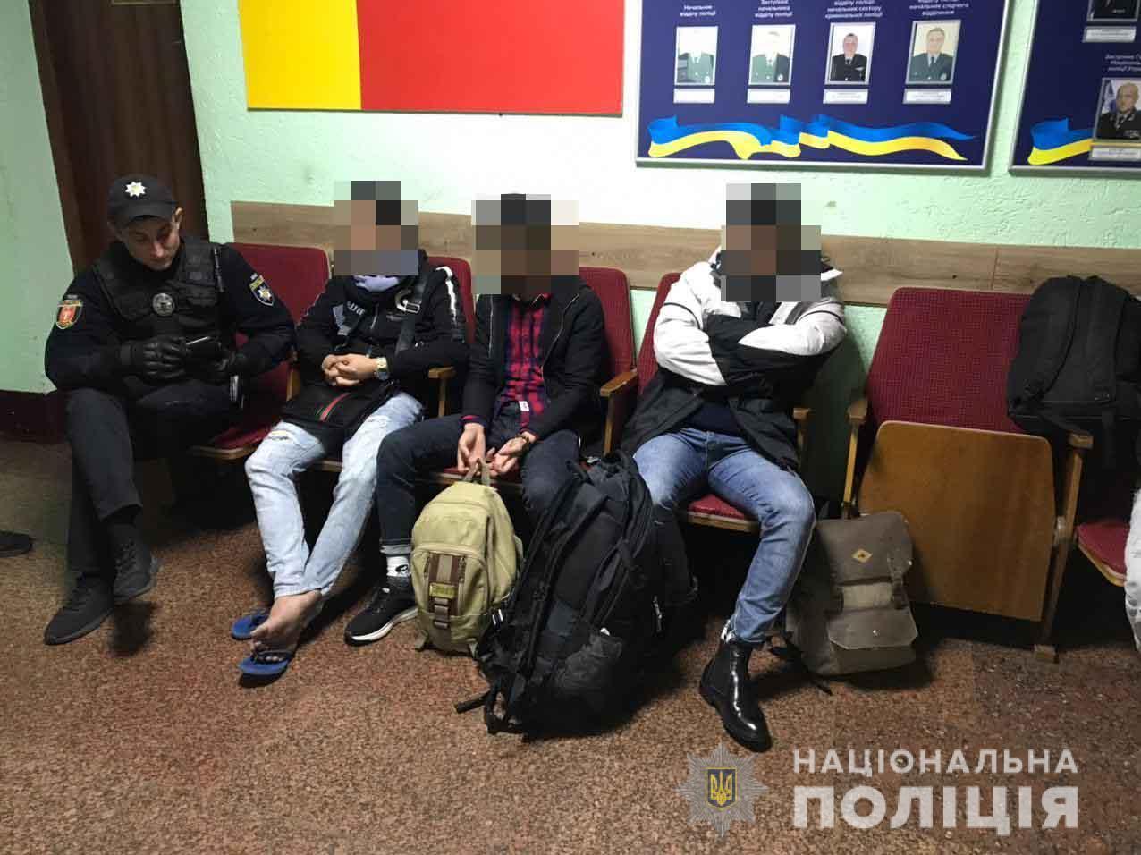 У Луцьку виявили групу нелегальних мігрантів
