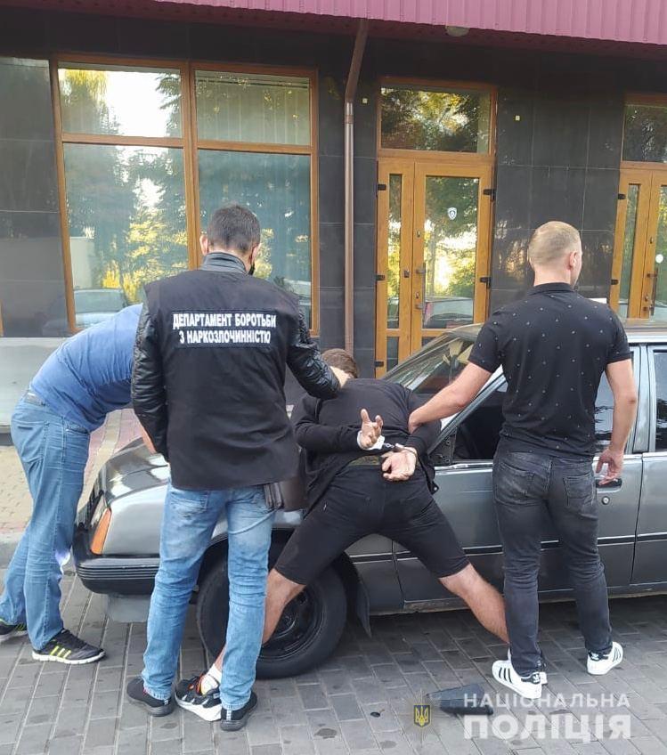 У Луцьку затримали закладчика наркотиків