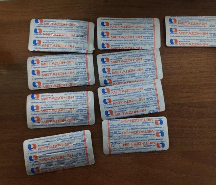 На «Ягодині» у пасажира автобуса виявили нарковмісні таблетки