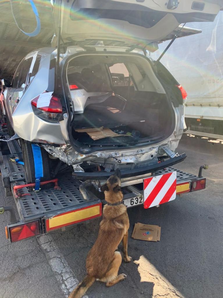 На кордоні з Білоруссю виявили авто з набоями