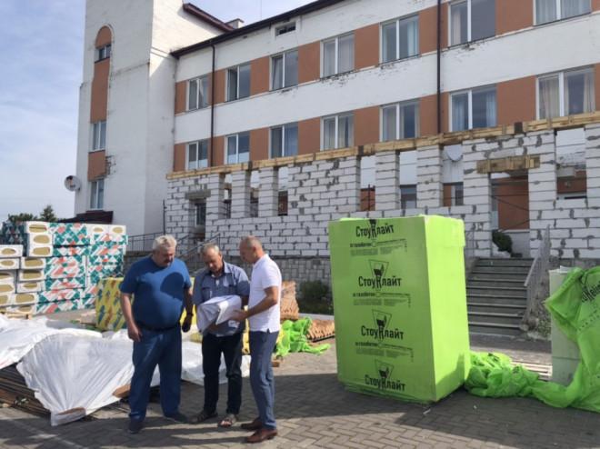 У Любомлі розпочали реконструкцію відділення екстреної медичної допомоги