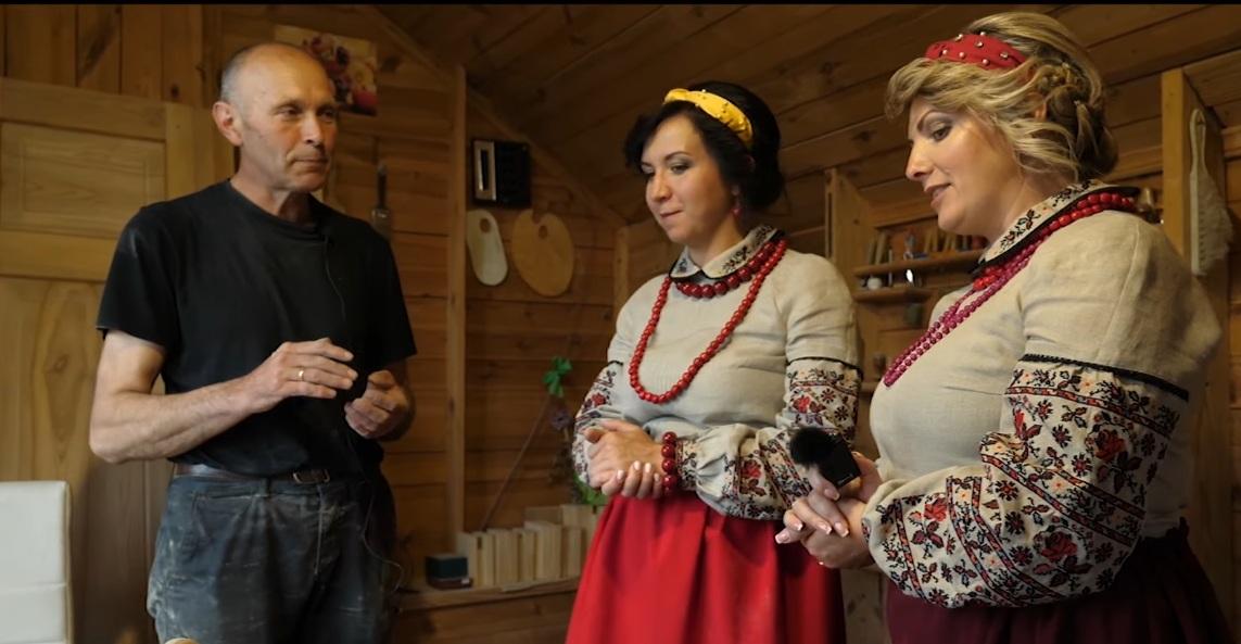 В ОТГ поблизу Луцька презентували відео про майстрів громади