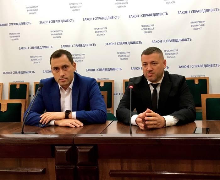 Представили першого заступника керівника Волинської обласної прокуратури