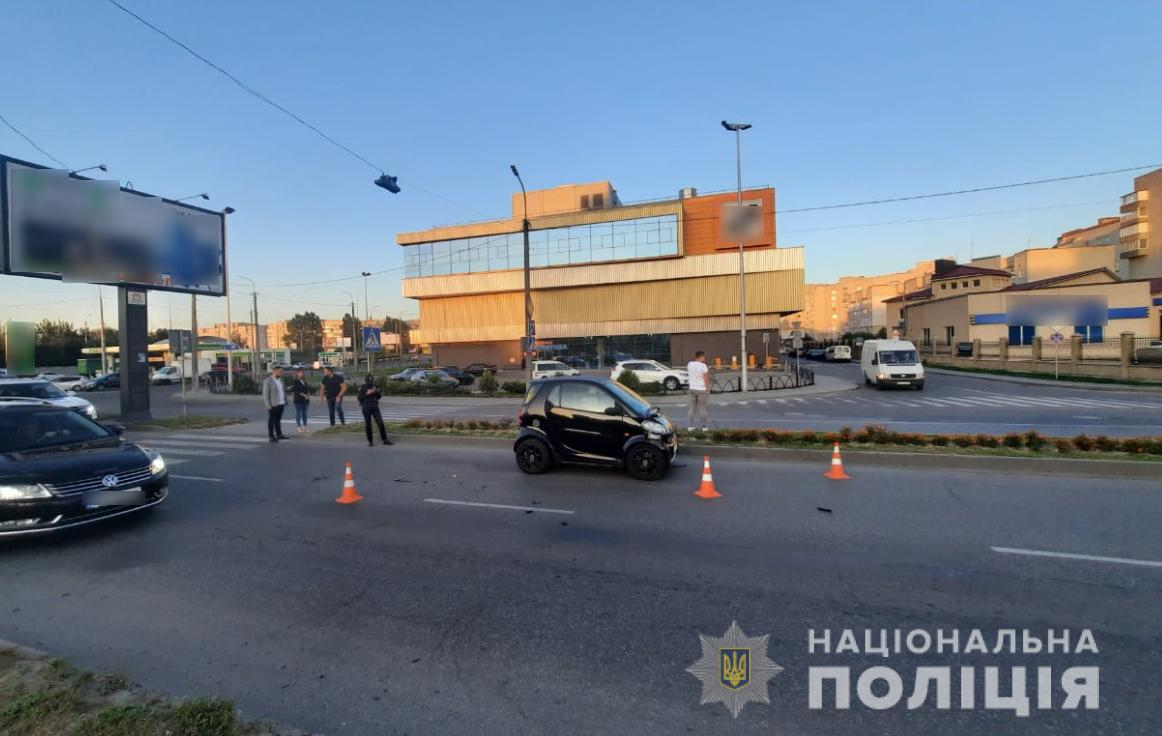 Внаслідок ДТП у Луцьку травмувалося двоє пішоходів