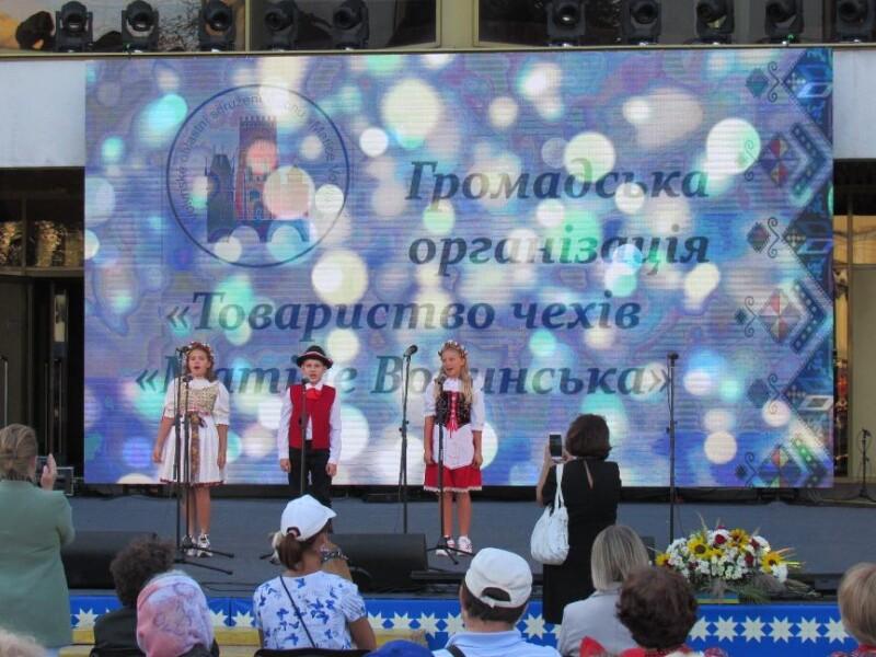 Національні товариства Луцька презентували своє мистецтво