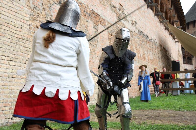У Луцькому замку змагалися учасники турніру «Середньовічний Лучеськ. Доблесть віків»