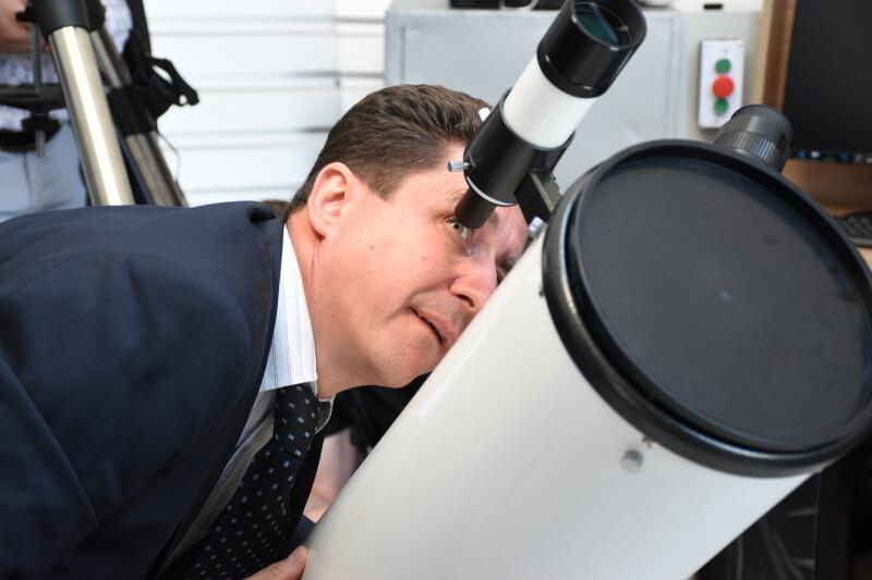 У Луцьку відкрили капітально відремонтовану обсерваторію