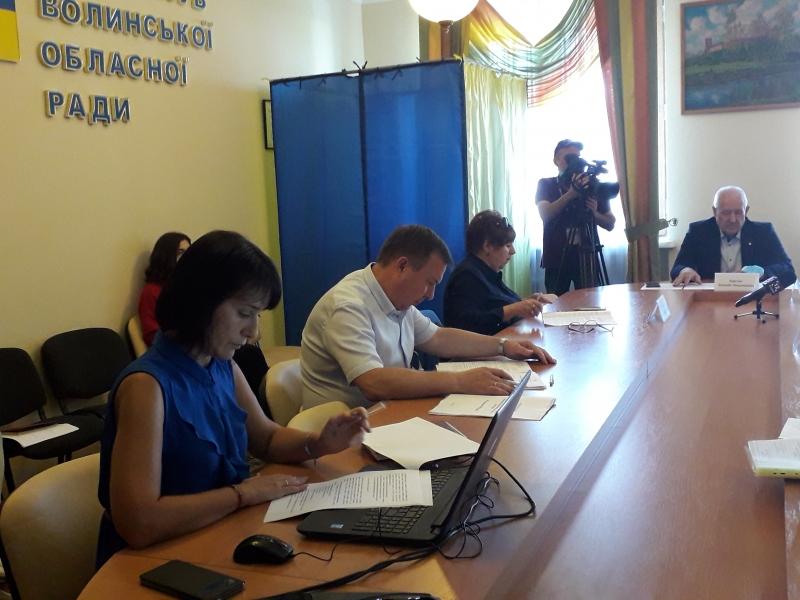 Депутатам Волиньради презентували інвестиційний портал Волині