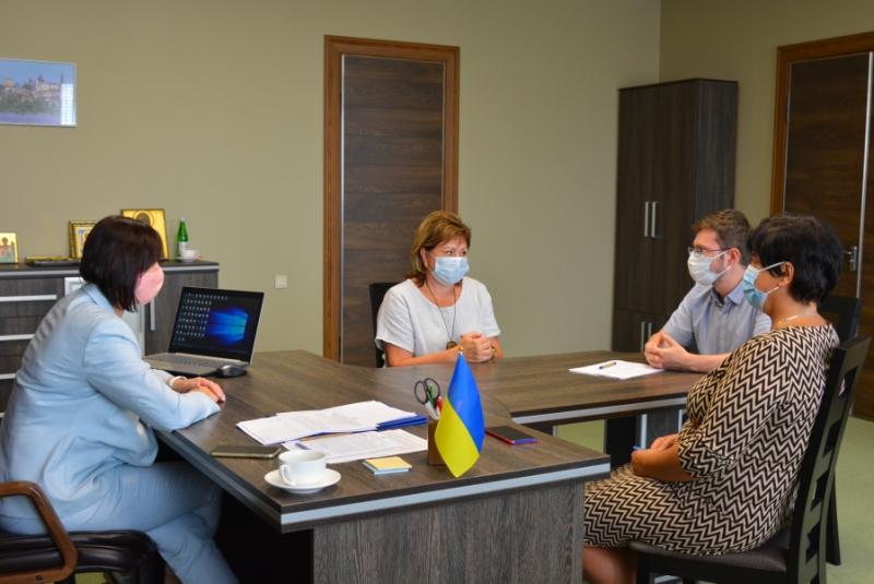 Голова Волиньради зустрілася з керівництвом Центру громадського здоров'я МОЗ