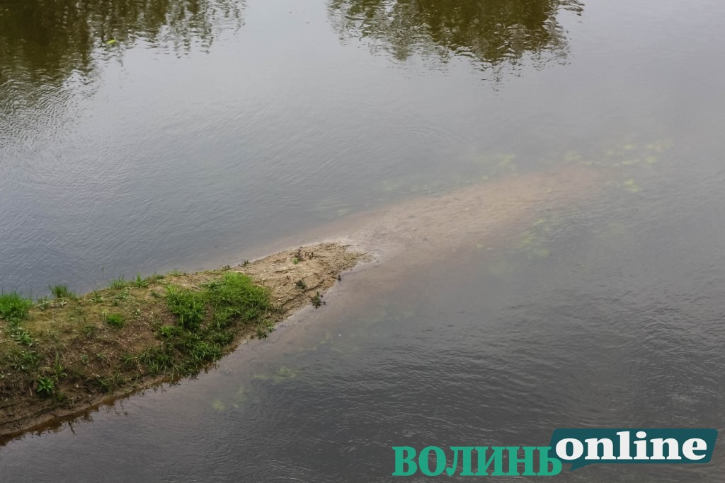 Біля Луцька перевірили воду у Стиру на шкідливі речовини