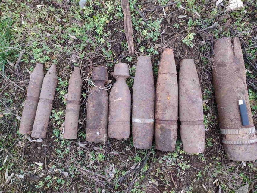 На Волині виявили вибухонебезпечні предмети