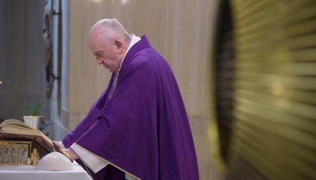 Папа Римський закликає списати борги найбільш враженим пандемією країнам