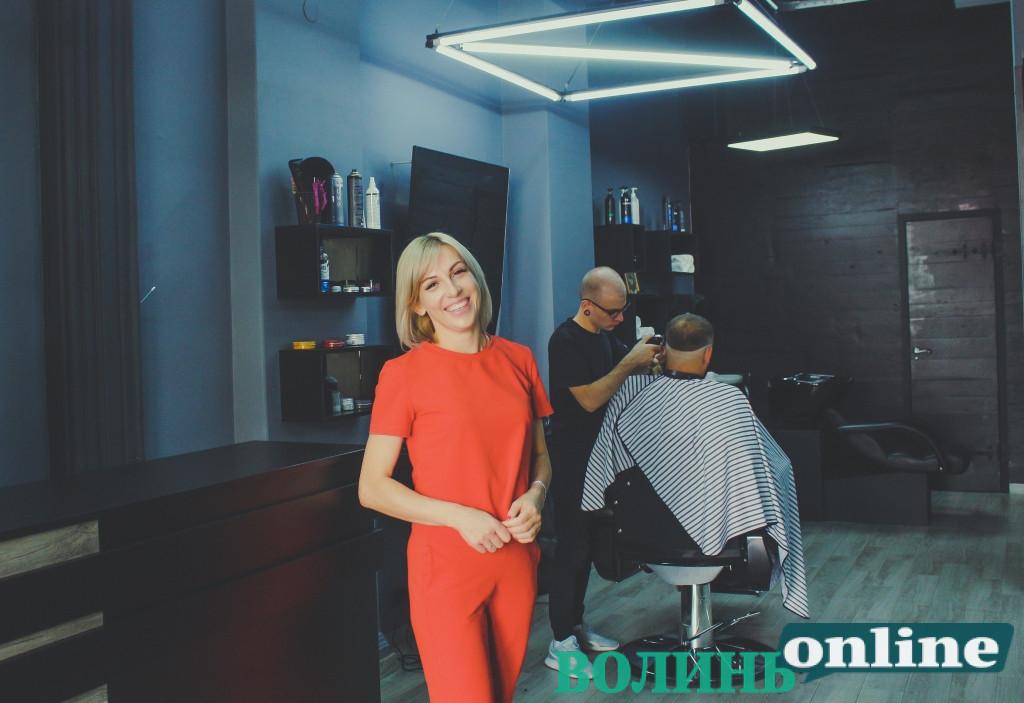 #БізнеСильні: підприємиця Наталія Шевченко відкрила перший у Ковелі барбершоп