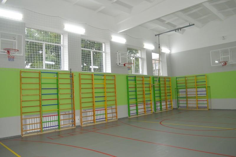 У ліцеї на Волині капітально відремонтували спортзал