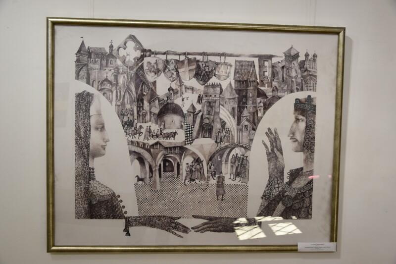 У Луцьку відкрили виставку художніх робіт мистецького об'єднання «Куля»